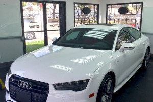 Audi S7 Window Tints