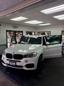 BMW X6M Window Tinting